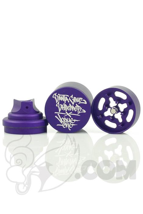 Santa Cruz Shredder - Vogue 3 Piece Purple Spray Can Grinder