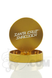 Santa Cruz Shredder - 2 Piece Large Gold Grinder