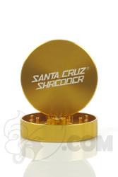 Santa Cruz Shredder - 2 Piece Large Gold Grinder