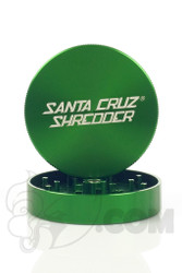 Santa Cruz Shredder - 2 Piece Large Green Grinder