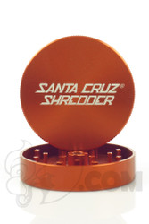 Santa Cruz Shredder - 2 Piece Large Orange Grinder