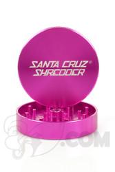 Santa Cruz Shredder - 2 Piece Large Pink Grinder