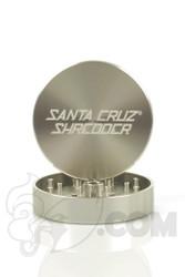 Santa Cruz Shredder - 2 Piece Large Silver Grinder