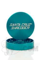 Santa Cruz Shredder - 2 Piece Large Teal Grinder