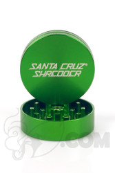 Santa Cruz Shredder - 2 Piece Medium Green Grinder