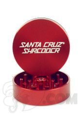 Santa Cruz Shredder - 2 Piece Medium Red Grinder