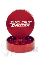 Santa Cruz Shredder - 2 Piece Medium Red Grinder