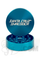 Santa Cruz Shredder - 2 Piece Medium Teal Grinder