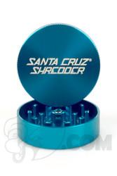 Santa Cruz Shredder - 2 Piece Medium Teal Grinder