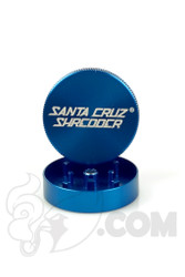 Santa Cruz Shredder - 2 Piece Small Blue Grinder