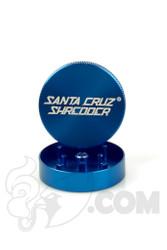 Santa Cruz Shredder - 2 Piece Small Blue Grinder