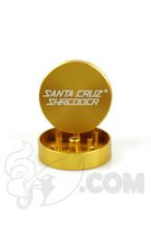 Santa Cruz Shredder - 2 Piece Small Gold Grinder