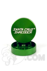 Santa Cruz Shredder - 2 Piece Small Green Grinder