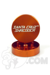 Santa Cruz Shredder - 2 Piece Small Orange Grinder
