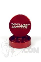 Santa Cruz Shredder - 2 Piece Small Red Grinder