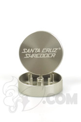 Santa Cruz Shredder - 2 Piece Small Silver Grinder
