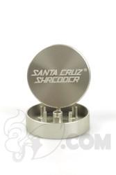 Santa Cruz Shredder - 2 Piece Small Silver Grinder