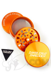 Santa Cruz Shredder - 4 Piece Large Orange Grinder