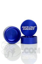 Santa Cruz Shredder - 3 Piece Small Blue Grinder