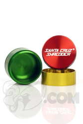 Santa Cruz Shredder - 3 Piece Small Rasta Grinder