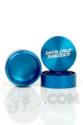 Santa Cruz Shredder - 3 Piece Medium Blue Grinder