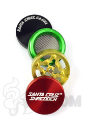 Santa Cruz Shredder - 4 Piece Small Rasta Grinder