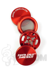 Santa Cruz Shredder - 4 Piece Small Red Grinder