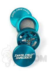 Santa Cruz Shredder - 4 Piece Small Teal Grinder