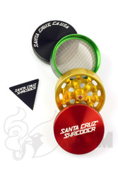 Santa Cruz Shredder - 4 Piece Medium Rasta Grinder