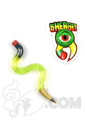 Sherbet Glass - Wavy Illuminati Glass Pencil Dabber