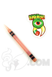 Sherbet Glass - CFL Shifty Peach Glass Crayon Dabber
