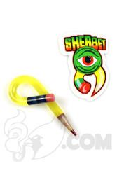 Sherbet Glass - Loop Illuminati Glass Pencil Dabber