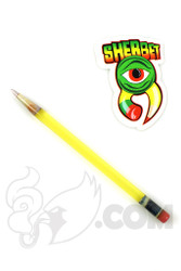 Sherbet Glass - Glass Pencil Dabber Illuminati with Light Purple Tip