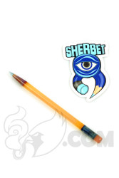 Sherbet Glass - Glass Pencil Dabber CFL Terp with Atomic Stardust Tip