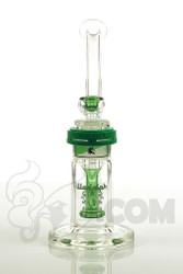 Illadelph Gallery - Showerhead Disc Bubbler with New Green Label Front