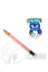 Sherbet Glass - Glass Pencil Dabber CFL Serum with Red Tip