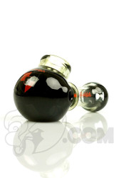 Illadelph - Black and Slyme Spoon Hand Pipe with NEW Red Label Front