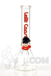 Left Coast - 5mm Short Beaker with Red Label Front