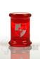 Illadelph x JM Flow Sci Glass - Detachable Red Triple Coil Collab Jar Back