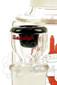Illadelph x JM Flow Sci Glass - Detachable Red Triple Coil Collab Slide