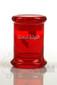 Illadelph x JM Flow Sci Glass - Detachable Red Triple Coil Collab Jar Front