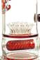 Illadelph x JM Flow Sci Glass - Detachable Red Triple Coil Collab Perc 1