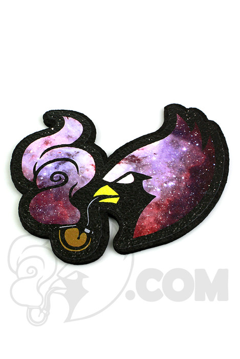 Coughing Cardinal - Galaxy Mood Mat