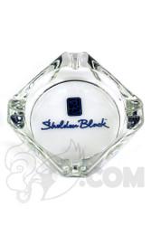 Sheldon Black - Ash Tray with Blue Signature