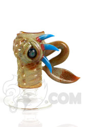 Salt - 18mm Female Tan and Blue Dome Front