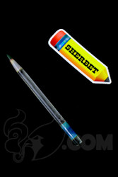Sherbet Glass - Glass Pencil Dabber UV Bluv with Green Tip