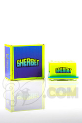Sherbet Glass - Pencil Stand in Yellow and Box
