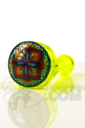 Takoda Madrona - Yellow Hand Pipe with Fillacello