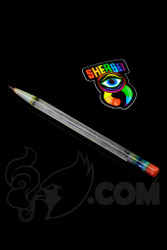 Sherbet Glass - Glass Pencil Dabber UV BluV with Red Tip