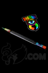 Sherbet Glass - Glass Pencil Dabber UV Lucy with UV Green Tip